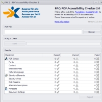PAC 2 – PDF Accessibility Checker